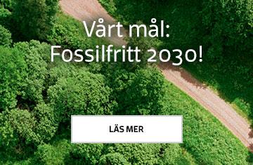 Vårt mål: Fossilfritt 2030!